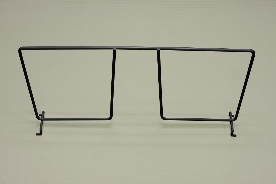 Разделитель проволочной полки 40 см, графит, Elfa® - фото