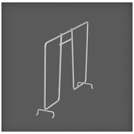 Разделитель проволочной полки 30 см, платина, Elfa® - фото