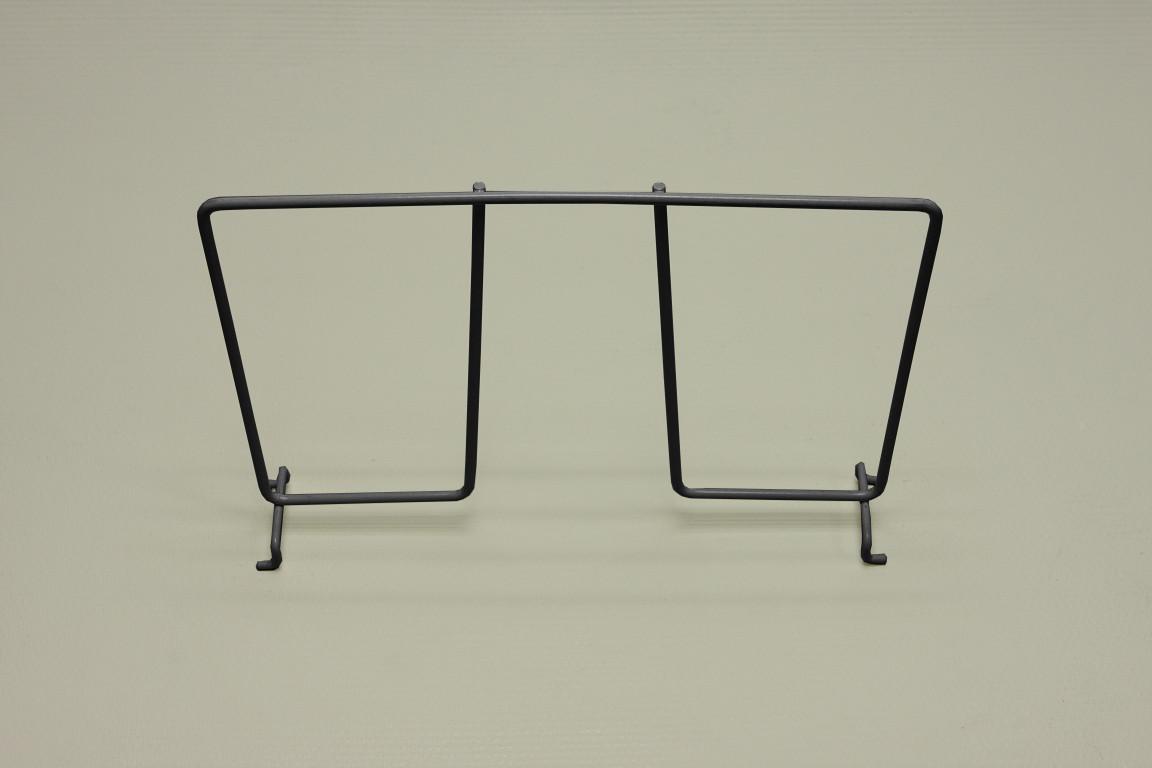 Разделитель проволочной полки 30 см, графит, Elfa® - фото