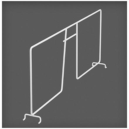 Разделитель проволочной полки белый 50 см, Elfa® - фото