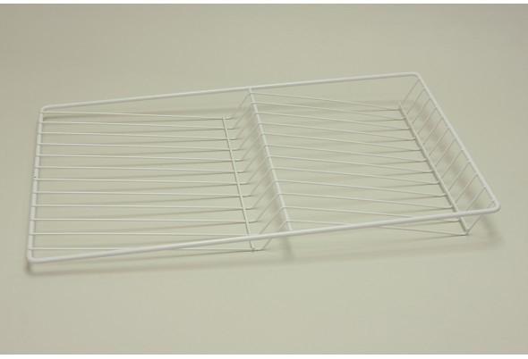 Полка решетчатая для бутылок/обуви, ширина 35 см, белая, Elfa® - фото