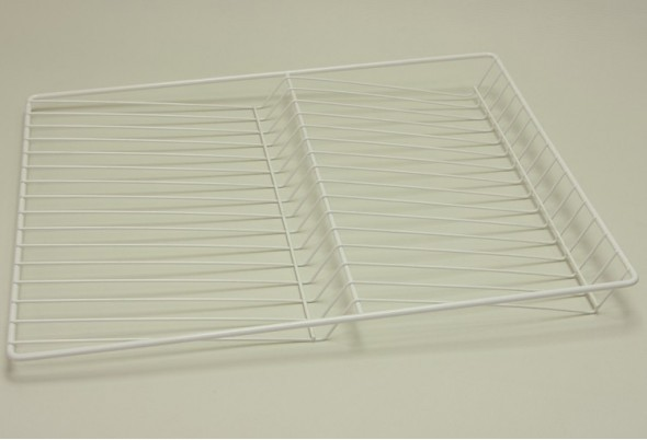 Полка решетчатая для бутылок/обуви, ширина 45 см, белая, Elfa® - фото