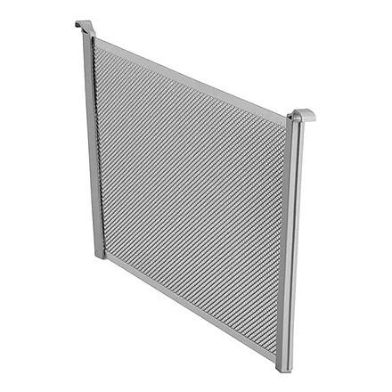 Разделитель для корзины платиновый Mesh 185 мм (2 шт/упак), Elfa® - фото