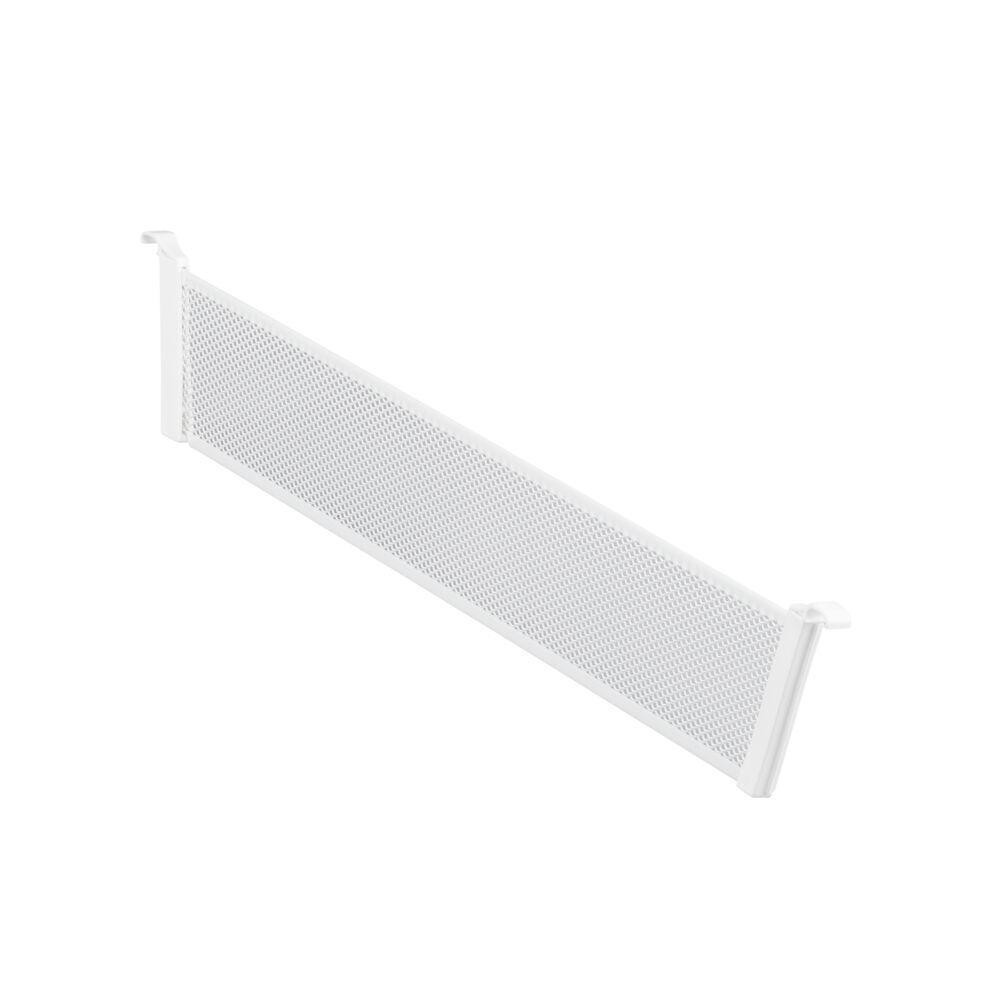 Разделитель для корзины Mesh, шир. 527 мм, выс. 85 мм, белый, (2 шт/уп), Elfa® - фото