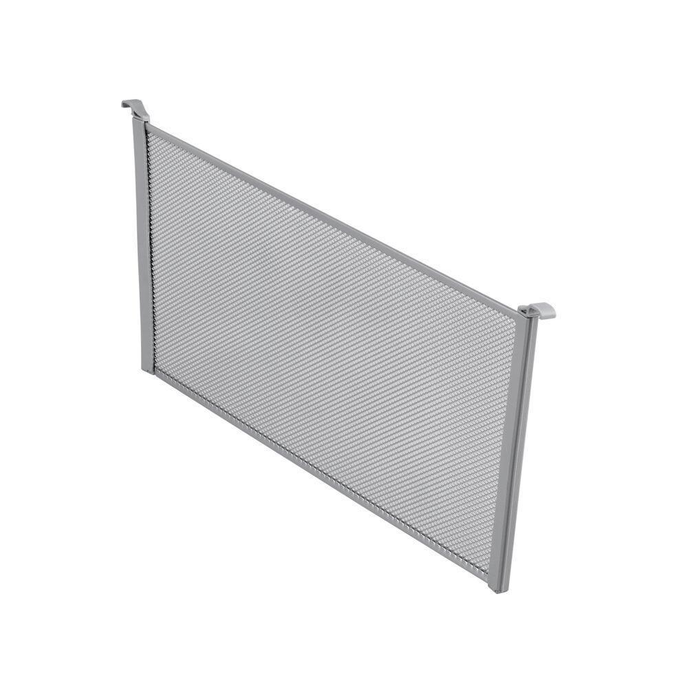 Разделитель для корзины Mesh, шир. 527 мм, выс. 185 мм, платина, (2 шт/уп), Elfa® - фото