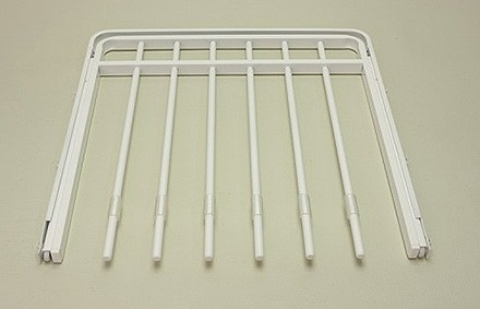 Выдвижная вешалка для брюк, 45 см, белая, Elfa® - фото