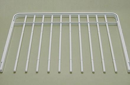 Выдвижная вешалка для брюк, 60 см, белая, Elfa® - фото