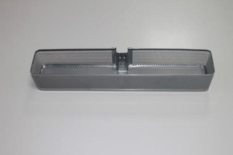 Малая корзинка Mesh для направляющей малая платина, Elfa® - фото