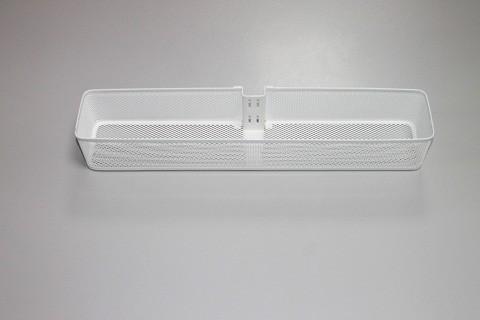 Малая корзинка Mesh для направляющей малая белая, Elfa® - фото