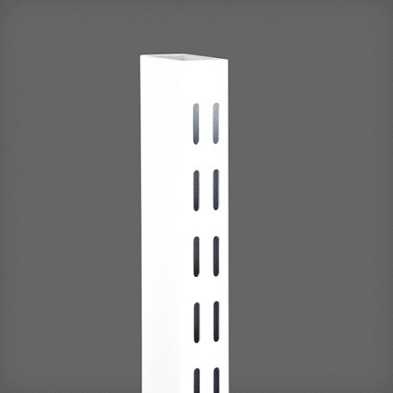 Направляющая двухсторонняя 158 см цвет белый, Elfa® - фото