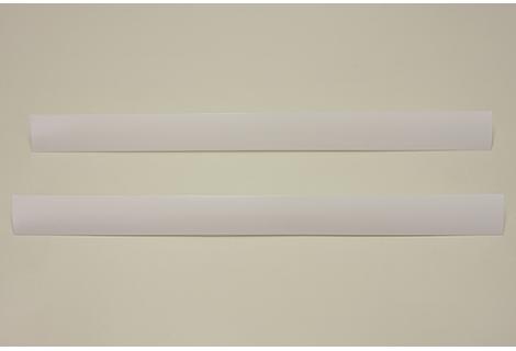Декоративная вставка в несущий рельс, белая, 58 см, Elfa® - фото