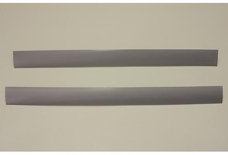 Декоративная вставка в несущий рельс, платина, 58 см, Elfa® - фото