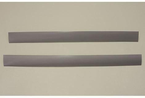Декоративная вставка в несущий рельс, платина, 87,5 см, Elfa® - фото