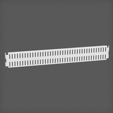 Перфорированная панель цвет белый 45х6 см, Elfa® - фото
