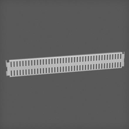 Перфорированная панель цвет платина 45х6 см , Elfa® - фото
