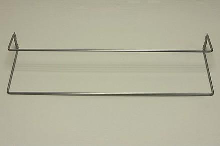 Полка для обуви одинарная платиновая 60 см, Elfa® - фото