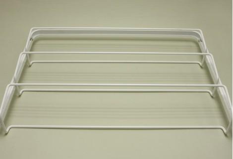 Выдвижная 3-х ярусная обувница, 60 см, белая, Elfa® - фото