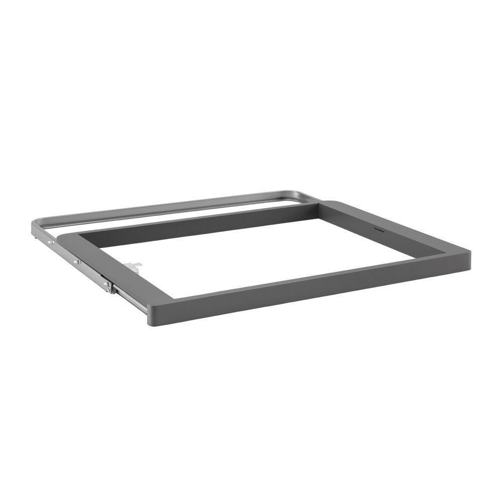 Выдвижная рамка Decor для корзины, серый, Elfa® - фото