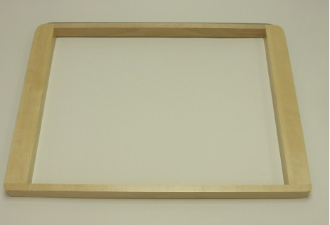 Выдвижная рамка под корзину 527х427, береза, Elfa® - фото