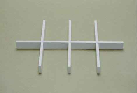 Разделитель ящика аксессуаров на 8 ячеек белый, Elfa® - фото