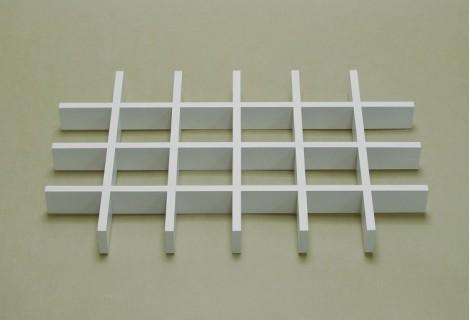 Разделитель ящика аксессуаров на 24 ячейки белый, Elfa® - фото