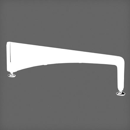 Опора с ножкой 56 см цвет белый, Elfa® - фото