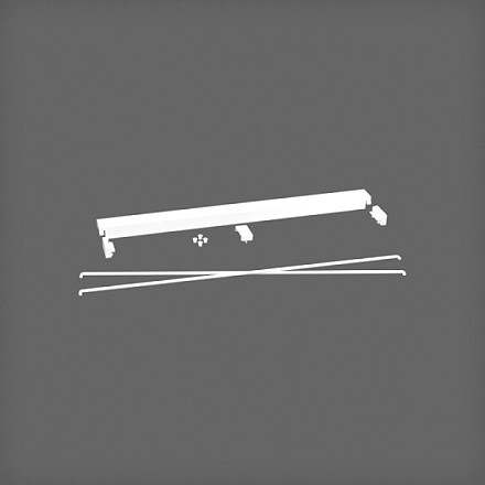 Комплект стабилизации 60 см цвет белый, Elfa® - фото