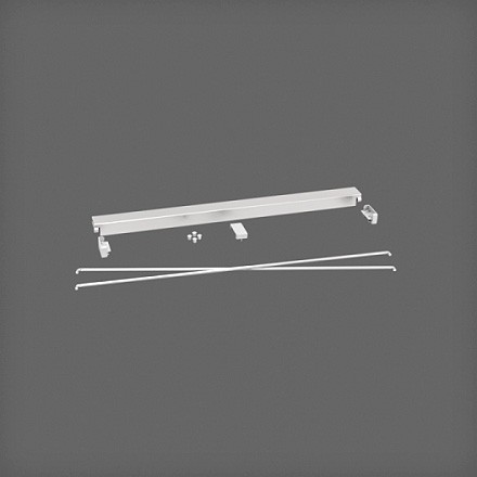 Комплект стабилизации 60 см цвет платина, Elfa® - фото