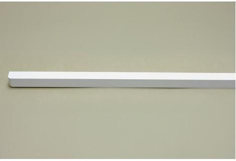 Декоративная планка для решеток полки, длиной 60 см. белая, Elfa® - фото