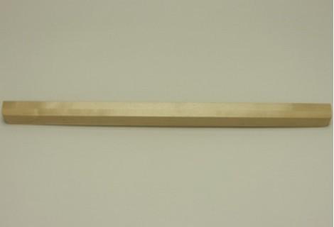 Декоративная планка для решеток полки, длиной 60 см. береза, Elfa® - фото