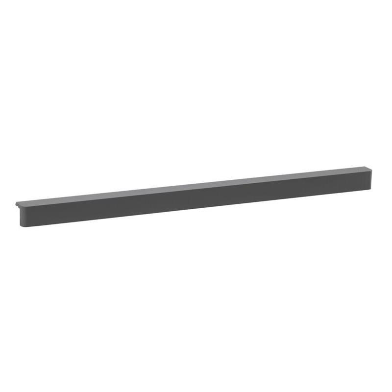 Планка Decor 60 см для сетчатой полки, серый, Elfa® - фото