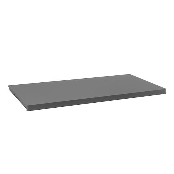 Полка Décor 43,6 х 90 см, серый, Elfa® - фото