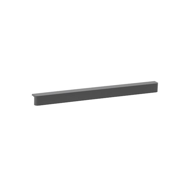 Планка Decor 45 см для сетчатой полки, серый, Elfa® - фото