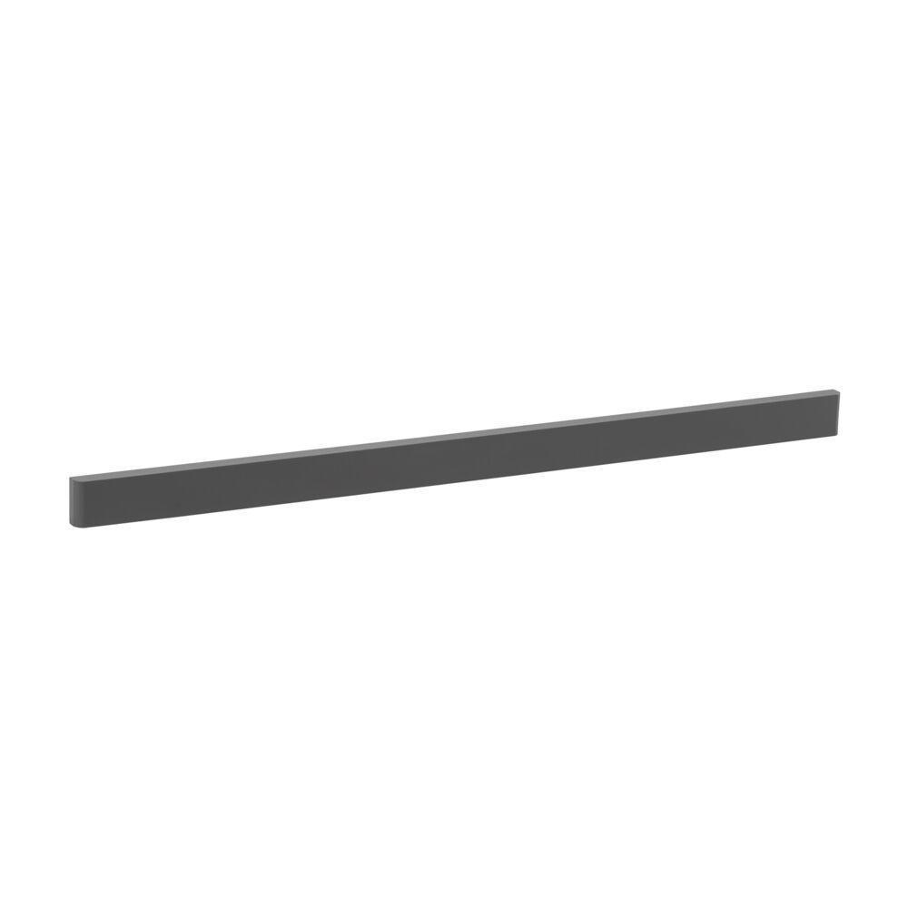 Декоративная планка 60 см для выдвижной двухъярусной обувницы Mesh, серый, Elfa® - фото