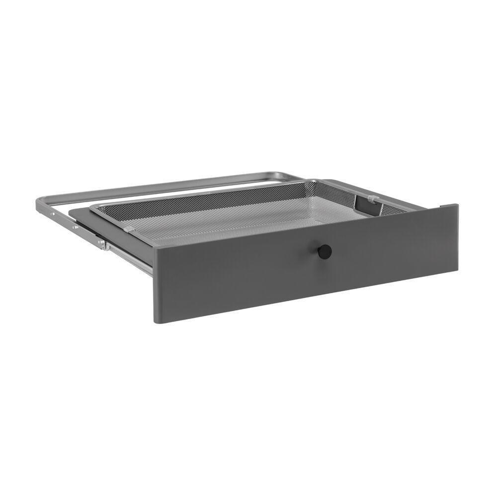 Передняя панель Decor на 1 рельс, серый, Elfa® - фото
