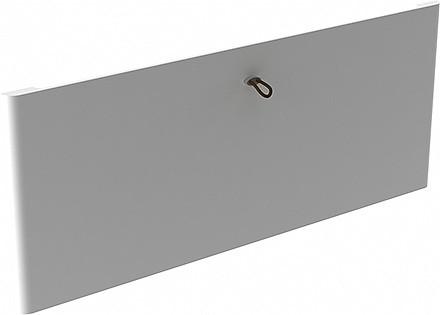 Передняя панель Décor на 2 рельса, белая, Elfa® - фото