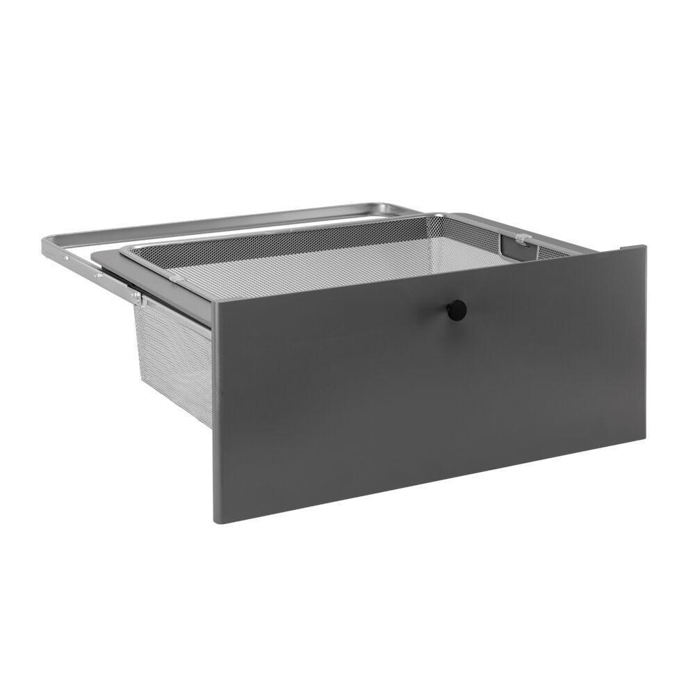 Передняя панель Decor на 2 рельса, серый, Elfa® - фото