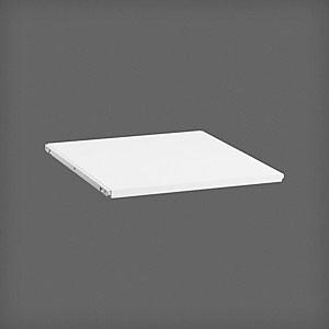 Полка ЛДСП  45x50, белая, Elfa® - фото