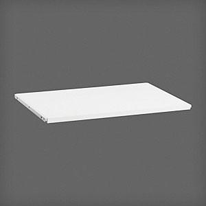 Полка ЛДСП  60x42, белая, Elfa® - фото