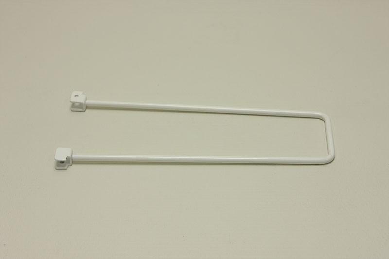 Боковой упор 25 см, белый, Elfa® - фото