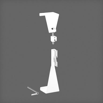 Крепление направляющей на двери, белый, Elfa® - фото