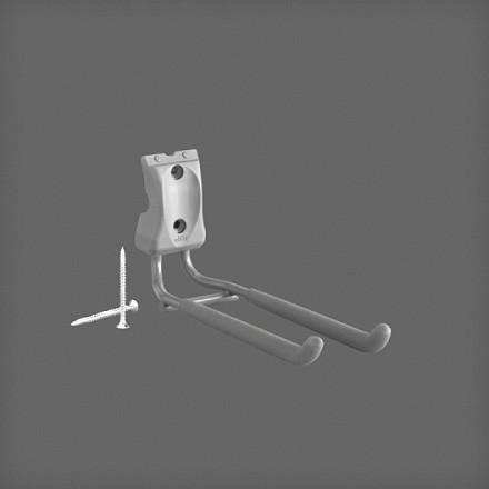 Двойной прямой крючок, серый, Elfa® - фото