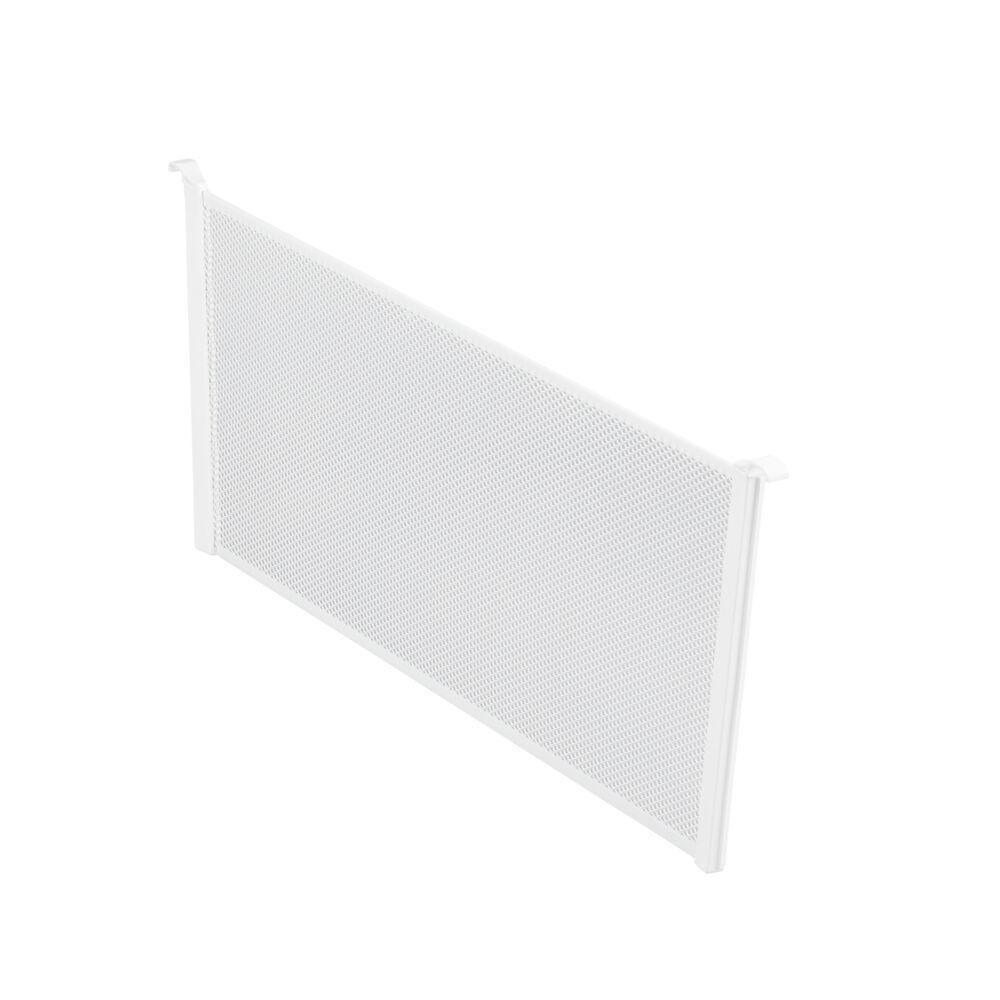 Разделитель для корзины Mesh, шир. 527 мм, выс. 185 мм, белый, (2 шт/уп), Elfa® - фото