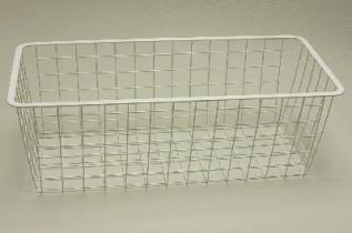 Корзина 25 (230 х 530 х 180 мм), белая, Elfa® - фото