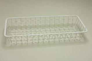 Корзина 25 (230 х 530 х 80 мм), белая, Elfa® - фото