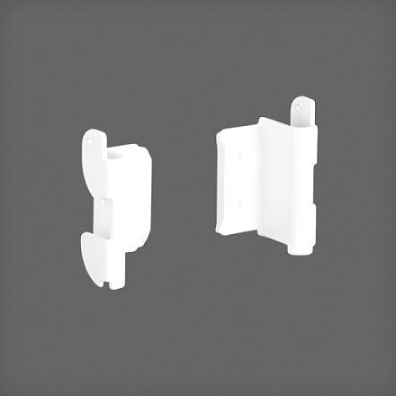 Крепеж рельса к направляющим белый 2 шт/уп., Elfa® - фото