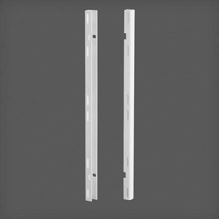 Крепления для перфорированной панели цвет белый (2 шт/уп), Elfa® - фото