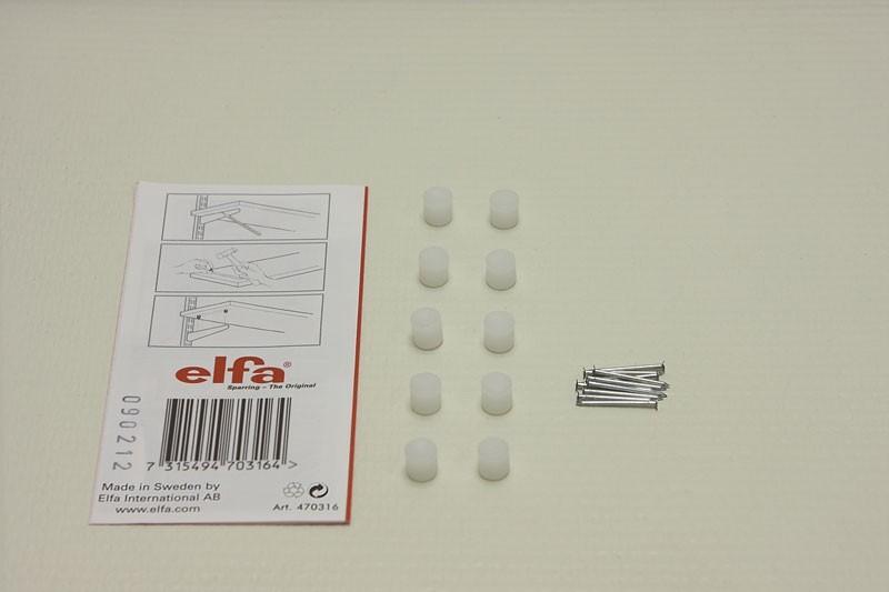 Крепление для ДСП полок, Elfa® - фото