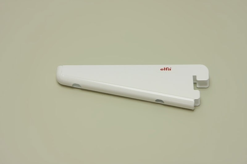 Опора для меламиновой полки 12 см, белая, Elfa® - фото