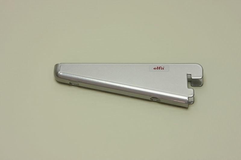 Опора для меламиновой полки 12 см, платина, Elfa® - фото